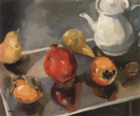 still life with fruit by mary clark holderness
