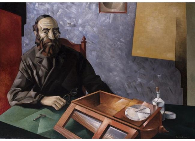 der jüdische uhrenmacher by natan isaevich altman