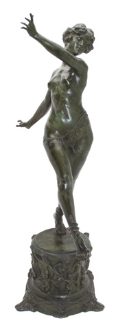 a nude dancer by paul angé nocquet