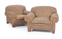 club chairs (pair) by ralph lauren