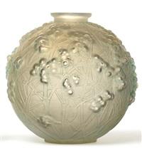 a druide vase by rené lalique