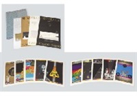 saint shambhala(portfolio with a set of 10 prints) by tadanori yokoo
