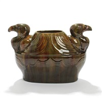 eagle vase by karl frederik christian hansen-reistrup