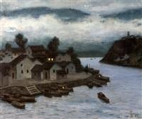 landscape by xu junxuan