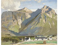 near glencoe by john guthrie spence smith