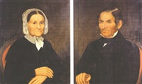 mary t. ketcham (+ joseph ketcham; pair) by salomon w. corwin