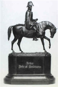 equestrian statue of the duke of wellington by edmund cotterell