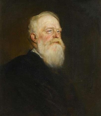 porträt eines bärtigen mannes by franz seraph von lenbach