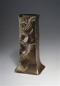 hohe vase by j.p. kayser & sohn