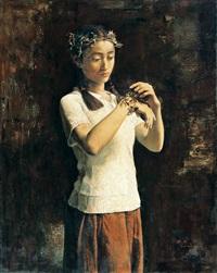 花季 (blossoming youth) by guo runwen
