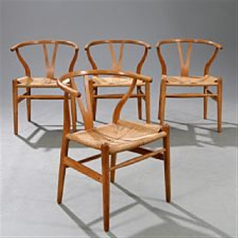 y chairthe wishbone chair by hans j wegner on artnet. Black Bedroom Furniture Sets. Home Design Ideas