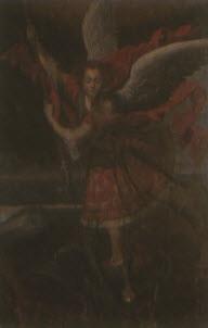 archangel michael defeating satan by peruvian school-cuzco (19)