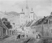 die basilika von mariazell by eduard gurk