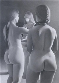 standing figures iii by james adkins