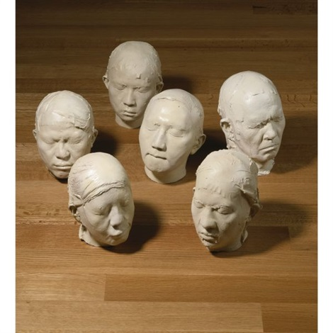 new people 6 works by zhang dali