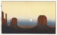 monument valley by toshi yoshida