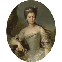 portrait of a woman by antoine vestier