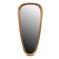 ovoid wall mirror by labarge