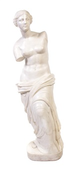 figure of venus de milo by antique