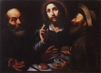 la cena in emmaus by giovanni antonio d' amato the younger
