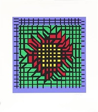 flower by victor vasarely
