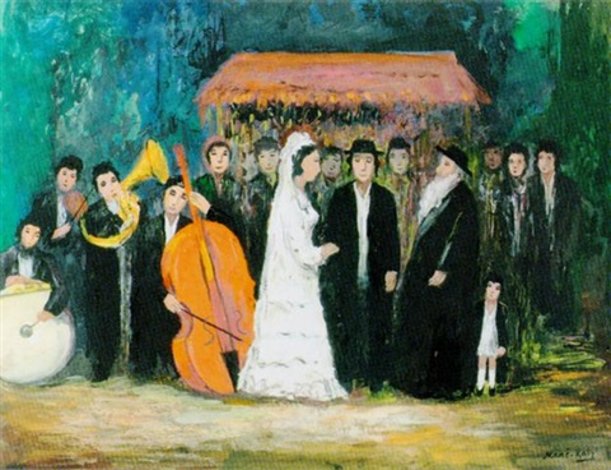 Judische Hochzeit By Mane Katz On Artnet