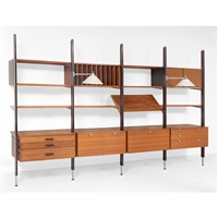 css wall unit by george nelson