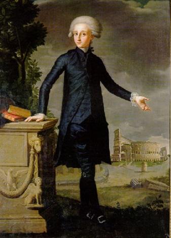 retrato de don juan despuig y zaforteza by francisco agustín y grande