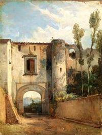 paesaggio meridionale by giacinto gigante
