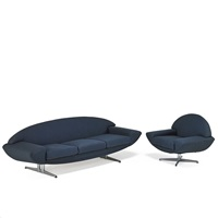 capri sofa and chair by johannes andersen