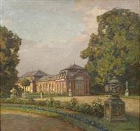 schwetzinger schlossgarten by hermann göhler