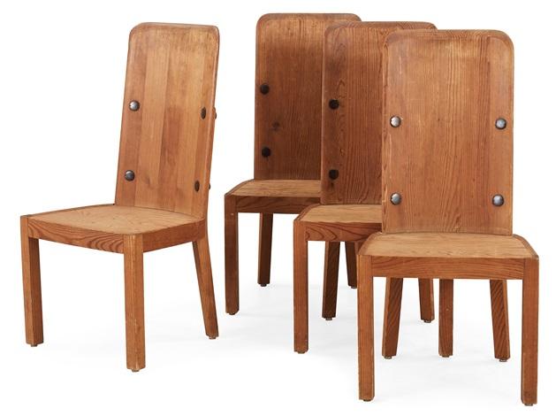 stolar set of 4 by axel einar hjorth