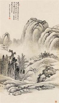 云山秋雨 by dai xi