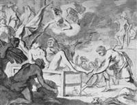 das martyrium des heiligen laurentius by pieter lastman