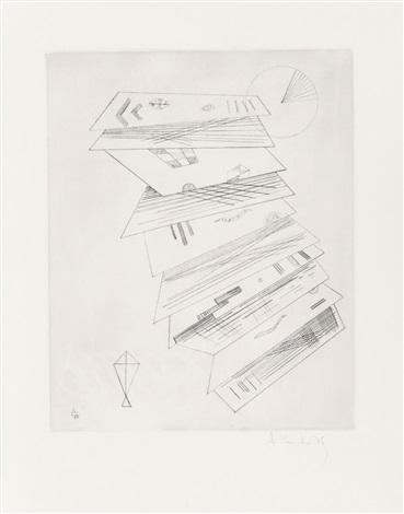 zweite radierung für die editions cahiers dart by wassily kandinsky