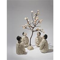 enjoy flowers (in 5 parts) by zhu weibing and ji wenyu
