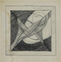étude de composition (hommage à pevsner) by jean albert gorin
