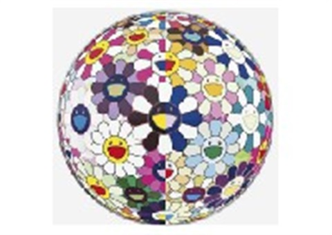 flowerball 3d from the realm of dead by takashi murakami
