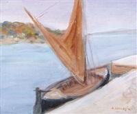 vecchia barca by alfredo catarsini
