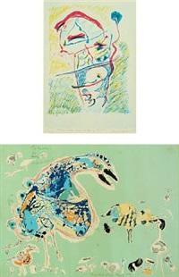 figure compositions (2 works) by jörgen nash