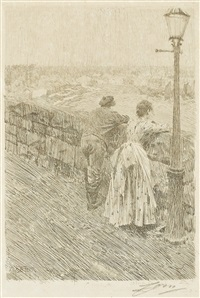 fisherman at st. ives by anders zorn