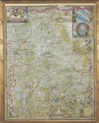 landkarte von gesamtbayern by philipp apianus