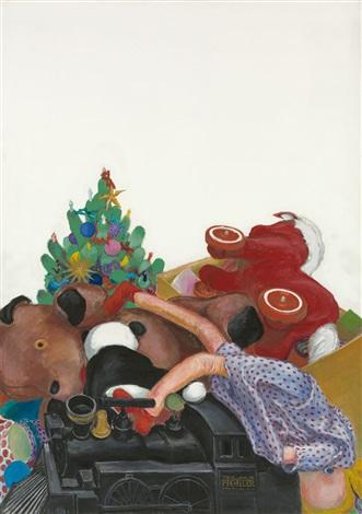 New York Weihnachten.Weihnachten New York By Christa Dichgans On Artnet