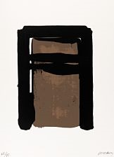 serigraphie no. 10 by pierre soulages