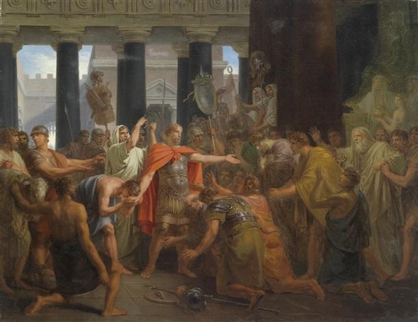 camillus wird zum diktator berufen by friedrich heinrich füger