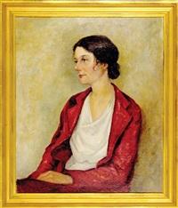portrait of writer katherine drayton mayrant simons by anne taylor nash