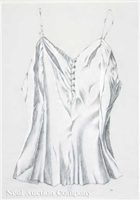 buttoned camisole by franklin adams