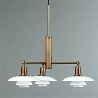 ph-stammekrone chandelier by poul henningsen