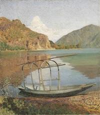 lago lombardo, anni trenta by oreste albertini
