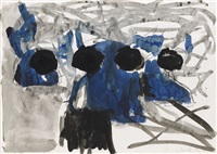 stillleben by georg baselitz